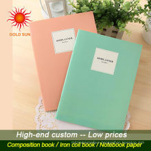 exercise book cheap bulk notebook custom paper notebook for school